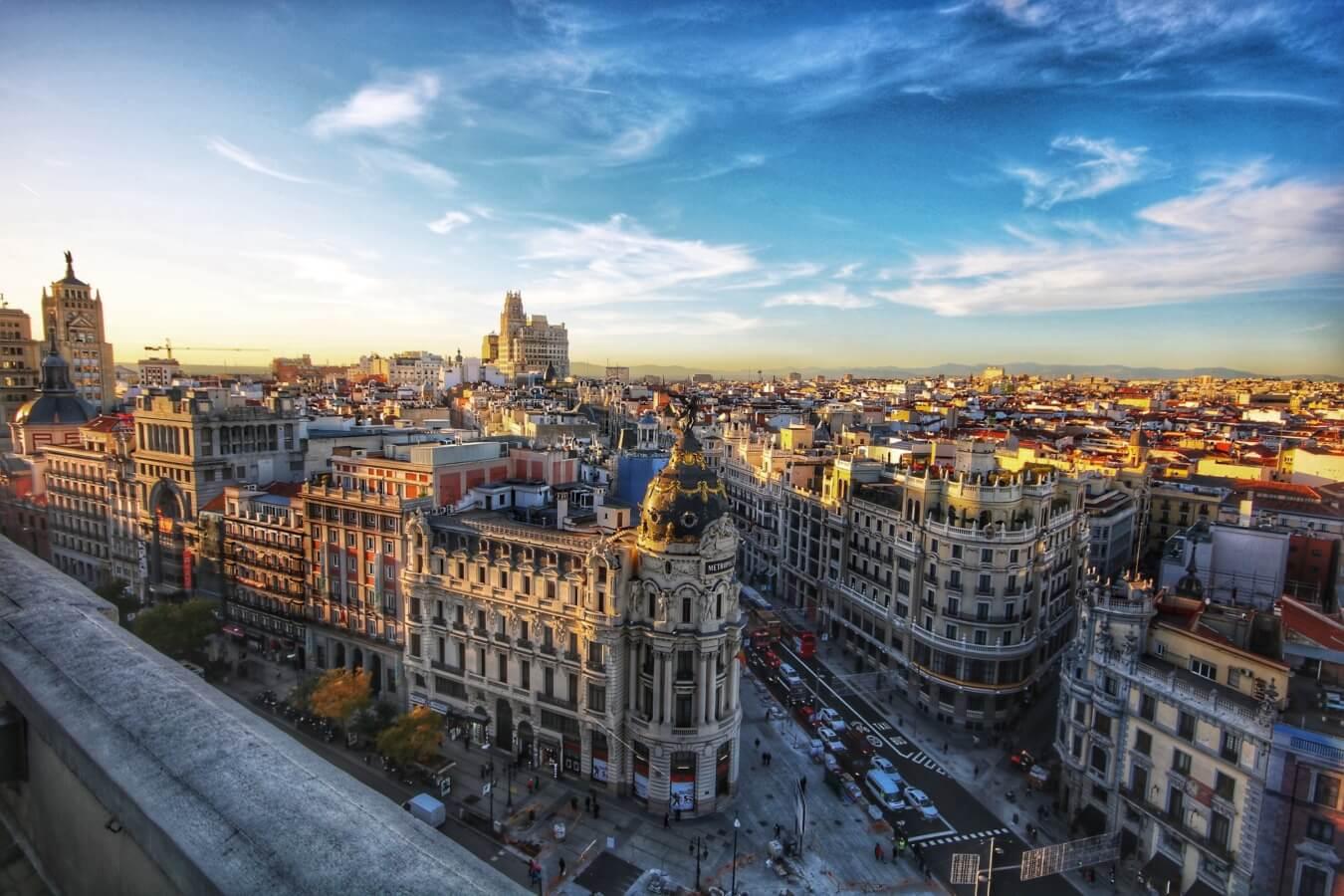 internship abroad spain Madrid