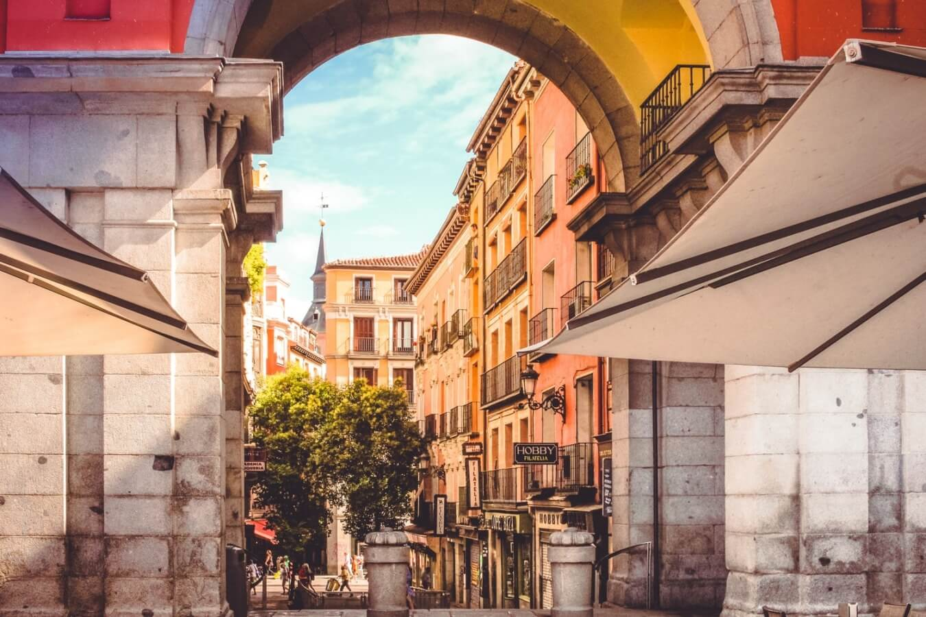 internship in madrid spain