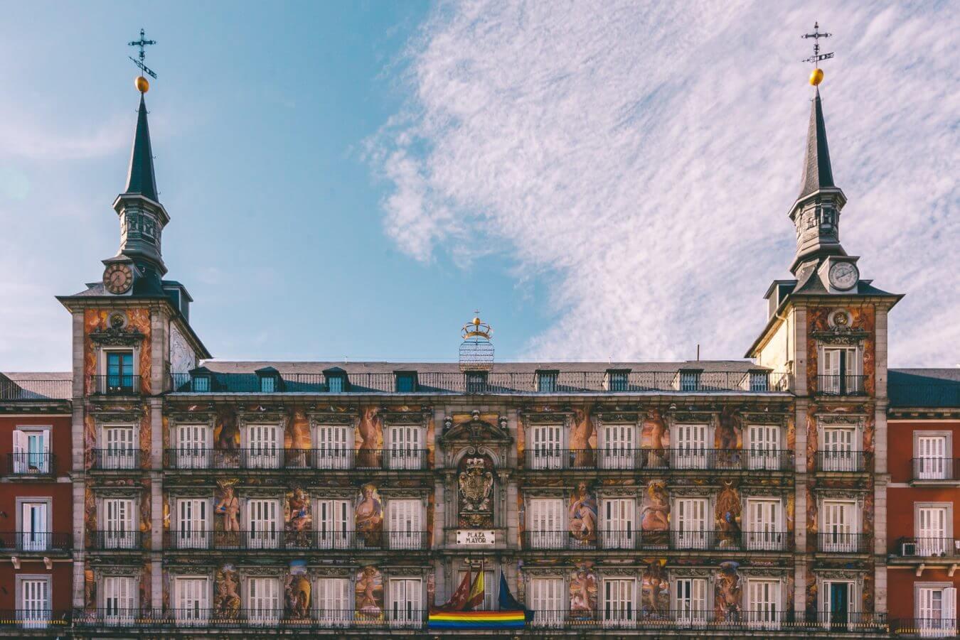 Marketing student in Madrid