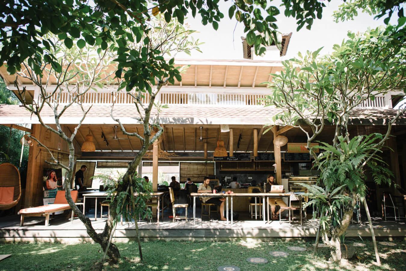 stage op Bali